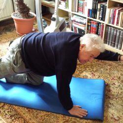 Gospod Vladimir: poškodba hrbtenice