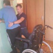Gospod Dušan: poškodba hrbtenjače – delna tetraplegija