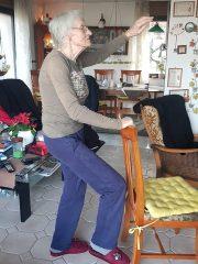 Gospa Jug iz Litije: padec in hospitalizacija